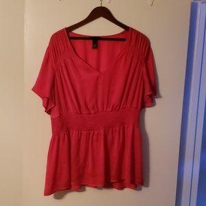 Plus sized blouse